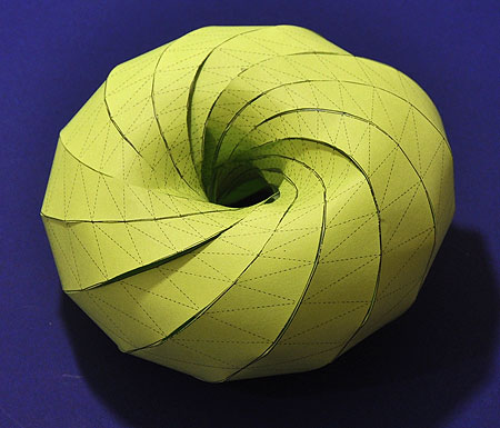 How to make a Clifford torus out of paper